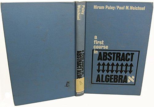 9780030549656: First Course In Abstract Algebra