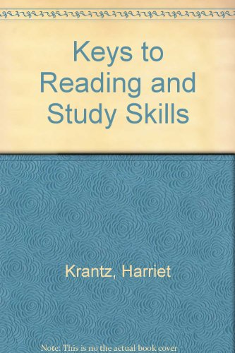 9780030549731: Keys to Reading and Study Skills