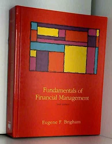 9780030550270: Fundamentals of Financial Management