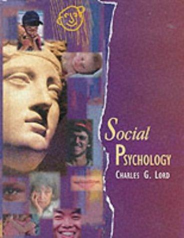 9780030551338: Social Psychology