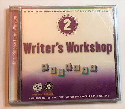 9780030551635: Writer's Workshop 2: Writing- A Multimedia Instructional System for Process-Based Writing (Elements of Language, 4th Course)