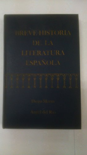 9780030551659: Breve Historia de la Literatura Espanola