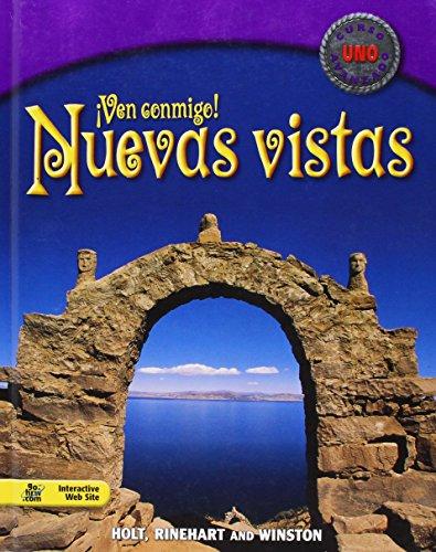 9780030552137: Nuevas vistas: Student Edition Curso uno 2003