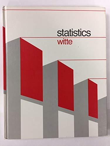 9780030552311: Statistics