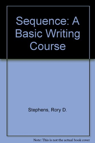 9780030552564: Sequence: A basic writing course