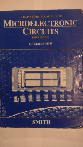 9780030552892: Laboratory Manual for Microelectronic Circuits