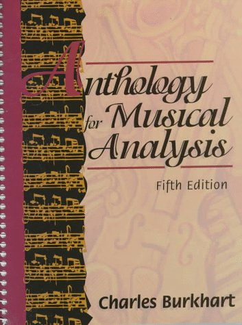 9780030553189: Anthology for Musical Analysis