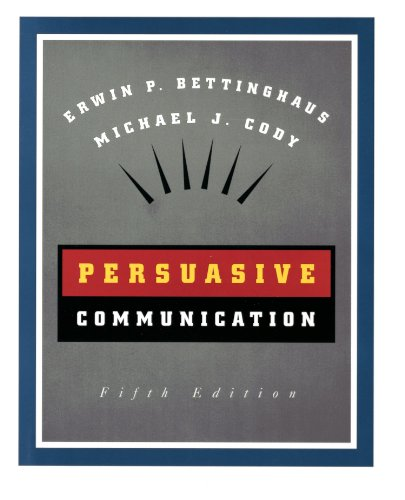 9780030553523: Persuasive Communication