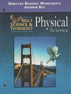 Holt Science and Technology 2001 : Physics: Rinehart and Winston
