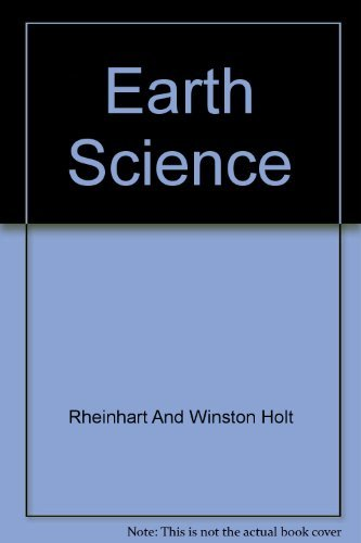 9780030554148: Earth Science: Reinforcement and Vocabulary Review Worksheets (Holt Science and Technology)