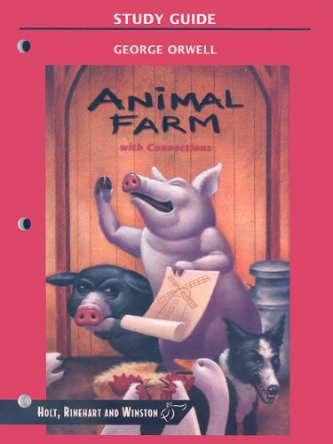 9780030554179: Animal Farm with Connections (HRW Library Study Guides)