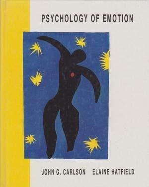 9780030554193: Psychology of Emotion