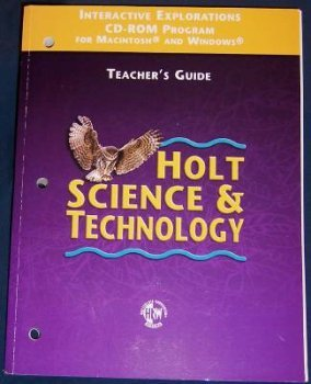 Holt Science & Technology (Teacher's Guide) Interactive: holt, rinehart and