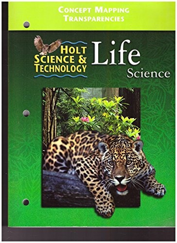 9780030554780: Concept Map Transparencies: Holt Science and Technology (Life Science)