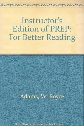 9780030555374: Prep: For Better Reading