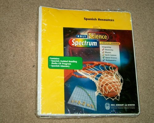 9780030555947: Holt Science Spectrum A Physical Approach Spanish Resources with 28 Audio CD's