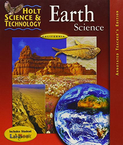9780030556685: Holt Science and Technology Earth Science California Teacher Edition