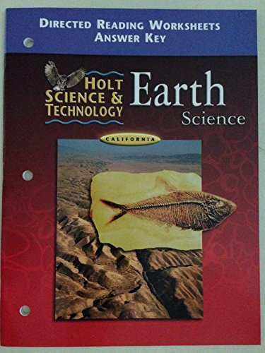 0030556783 - Holt Science and Technology Earth Science California ...