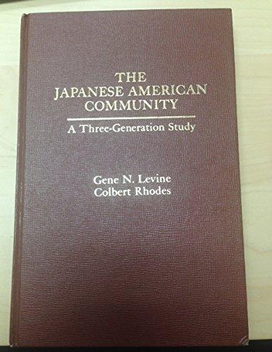 9780030556913: Japanese American Community