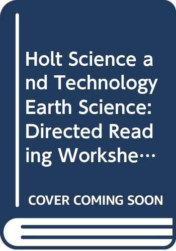 Holt Science and Technology Earth Science: Directed: Rheinhart And Winston
