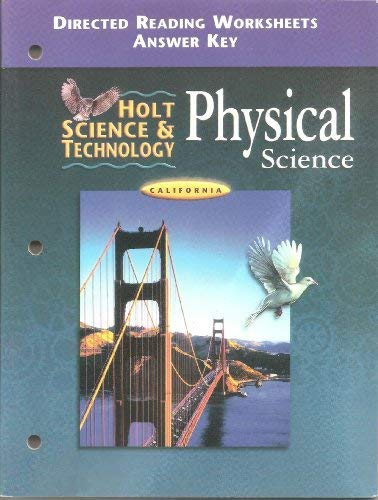 Printables Holt Physical Science Worksheets holt california physical science worksheets intrepidpath 9780030557187 and technology physical