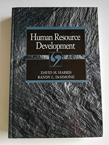 9780030557583: Human Resource Development (The Dryden Press Series in Management)