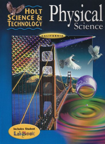 9780030557972: Physical Science: California Edition