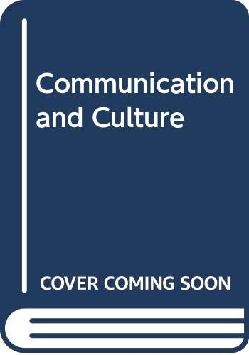 9780030558559: Communication and Culture