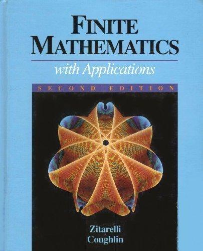 9780030558641: Finite Mathematics With Applications
