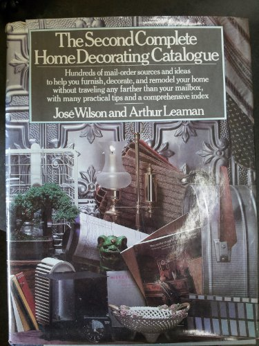 The second complete home decorating catalogue (0030559413) by Wilson, Jose