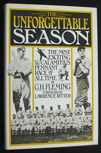 9780030562211: The unforgettable season / The most exciting & calamtious pennant race of all time
