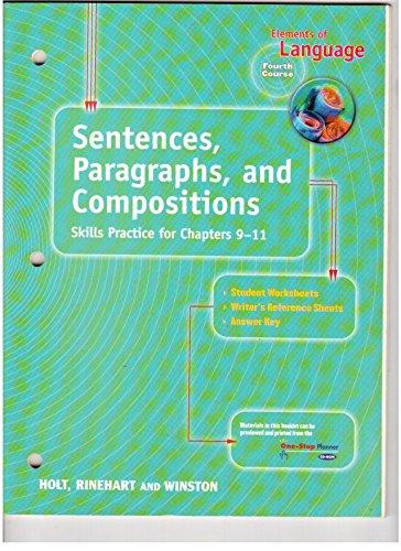 9780030563195: Sentences, Para & Comp Eolang 2001 G 10