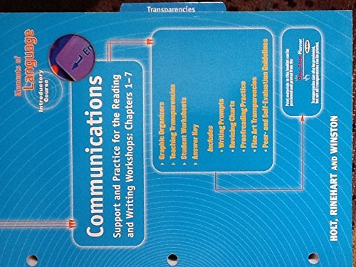 9780030564031: Elements of Language, Introductory Course, Communications.