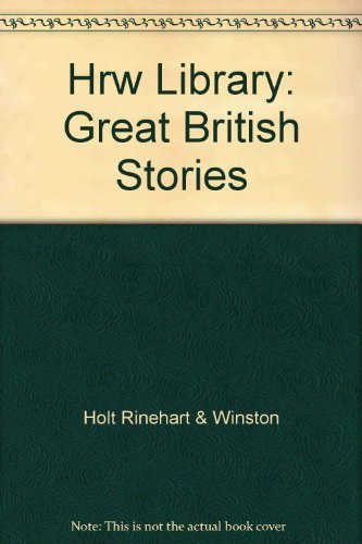9780030564673: HRW Library: Great British Stories
