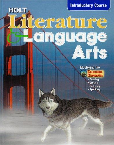 9780030564918: Holt Literature and Language Arts California: Student Edition Grade 6 2003