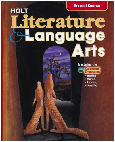 9780030564932: Holt Literature and Language Arts California: Student Edition Grade 8 2003