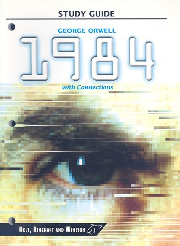 9780030565045: 1984 with Connections (HRW Library Study Guides)
