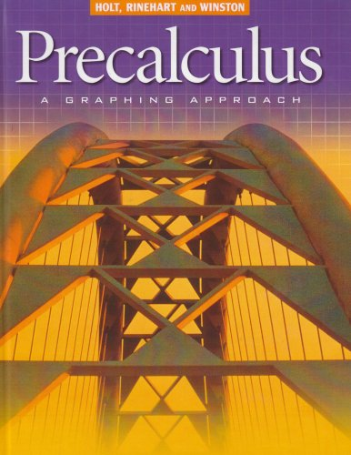 9780030565113: Precalculus: A Graphing Approach