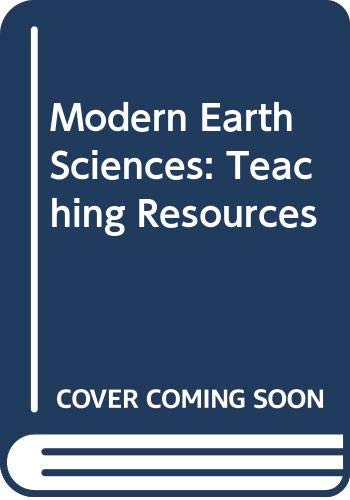 9780030565366: Modern Earth Sciences: Teaching Resources - A Bundle of 13 sofcover s