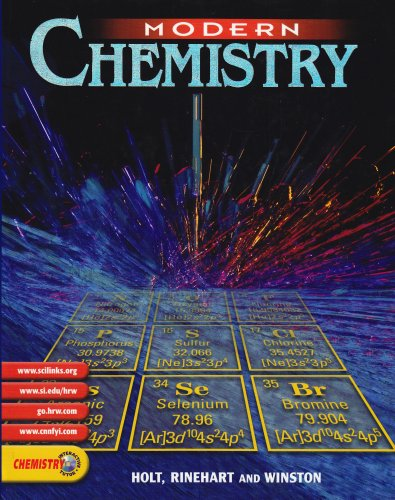 9780030565373: Modern Chemistry: PUPIL'S EDITION 2002