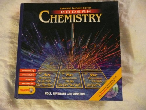 9780030565380: Modern Chemistry, Annotated Teacher's Edition