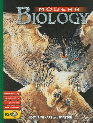 9780030565410: Holt, Rinehart and Winston: Modern Biology