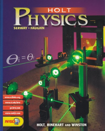 9780030565441: Holt Physics: Pupil Edition 2002