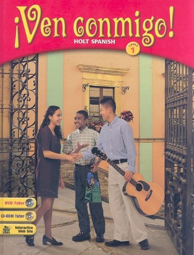 9780030565892: Ven Conmigo!: Holt Spanish Level 1 (Spanish Edition)[BOOK ONLY]