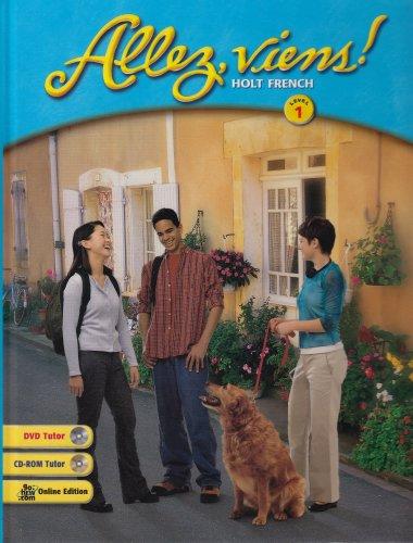 9780030565939: Allez, viens!: Student Edition Level 1 2003