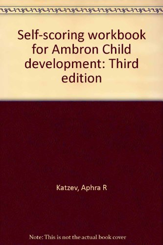 9780030566486: Self-scoring workbook for Ambron Child development: Third edition