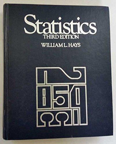 9780030567063: Statistics