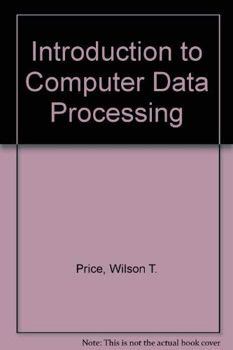 9780030567285: Introduction to Computer Data Processing