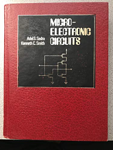 9780030567292: Microelectronic Circuits (HRW Series in Electrical & Computer Engineering)