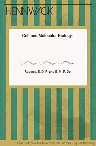 9780030567490: Cell and Molecular Biology